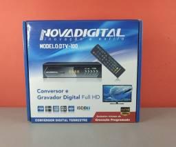 Conversor + Antena digital