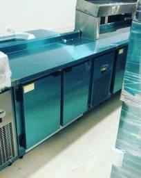 Título do anúncio: v- Balcão inox refrigerado para sua cozinha industrial
