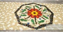 Piso Mosaico, acabamento, porcelanato, mosaico, mandala