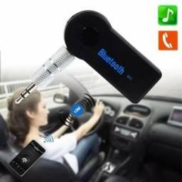 Receptor Bluetooth entra auxiliar som carro ou residêncial