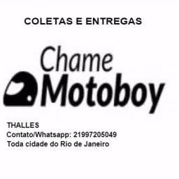 Motoboy profissional - aceita cartões