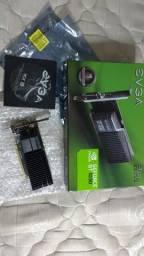 Placa de video Gt 1030 2Gb Gddr5, semi-nova com todas embalagens, caixa e cd de driver