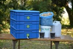 Kit Composteiras 84 litros