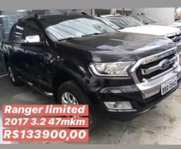 Ford ranger limited 3.2 2017 apenas 47mkm - 2017
