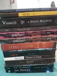 LIVROS diversos do autor André Vianco