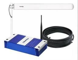 Repetidor e amplificador de sinal de celular 2100mhz 70db plus