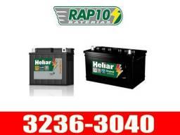 Ofertas de baterias Heliar motos e carros