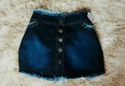 Short e saia Jeans tamanhos 38/40/42