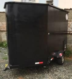 Alugo trailer food truck carrinho de lanches