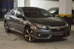Honda Civic Touring 1.5T - Único dono - Garantia de Fábrica - 2017 - 2017