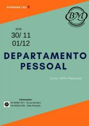 Curso: departamento pessoal