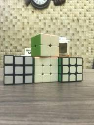 Cubo magico profissional. Rubiks (3x3), moyu (3x3), Cyclone (3x3) e Cyclone (2x2)