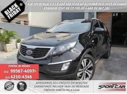 Kia sportage Preto 2.0 lx 16v flex automático 2013 R$ 45.645,00 93099KM - 2013