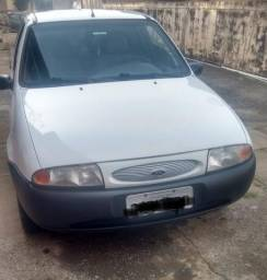 Ford Fiesta 99 - Branco - 4 Portas - Trava Elétrica - 1999