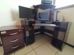 Escrivaninha / Mesa de Escritório + Gaveteiro