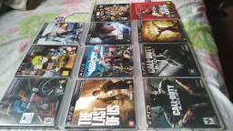 Lote jogos PS3 originais