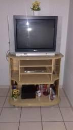 Rack com/e TV