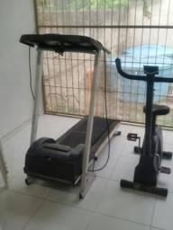 Esteira e bicicleta ergometricas