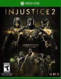 Jogo xbox one injustice 2 edição lendária