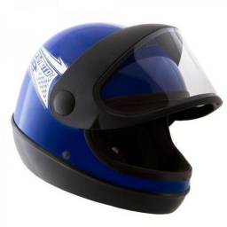 Capacete Moto sm Automático Pro Tork Fosco Motoboy