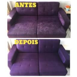 Lavagem a seco de sofás e colchões, poltronas e estofados em geral
