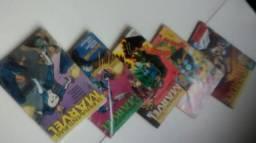 Dez superaventuras Marvel lote gibis