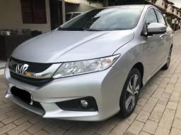 Honda City, EX, 1.5, automático, completo, único dono, estado de novo - 2015