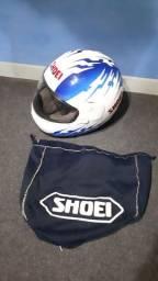 Capacete Antigo Original Shoei De Moto Speed De 1992