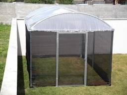 Mini Garden - Estufa de 3m por 5m x 2,2m - Agrícola