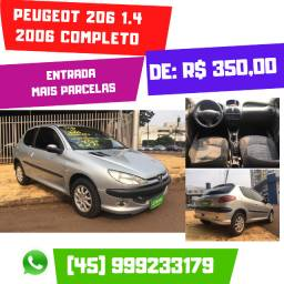 Peugeot 206 1.4 2006 Completo