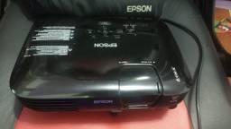 "Projetor Epson S8+ H309a 2500 Lm. Powerlite S8+ Usb2.0 Svga"""