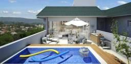 Cobertura com 4 dormitórios à venda, 170 m² por R$ 1.900.000,00 - Itaipava - Petrópolis/RJ
