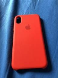 Case para iPhone X/XS vermelha