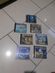 CDs iron maiden cada, usado comprar usado  Guarujá