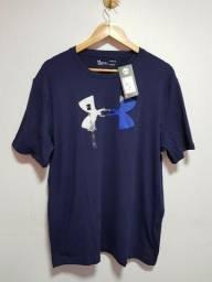 Camisa Under Armour Glitch Logo, Original. Tamanho G