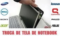 Tela led 14 polegadas Notebook varias marcas e modelos instalação gratis! entrego!