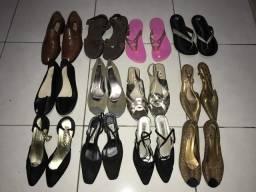 Calçados - sapatilha, sapato, salto alto, chinelo e sandália