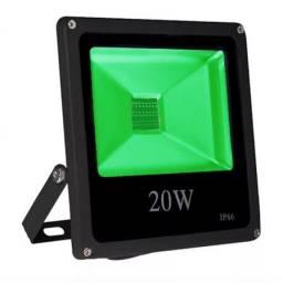 Refletor Holofote 20w Verde Led Ip66