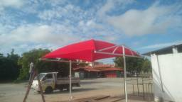 Vendo tenda lonada 4x5 m