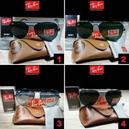 Óculos Unissex Rayban Aviador com Proteção UV comprar usado  Goiânia