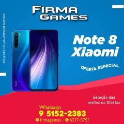 Xiaomi Redmi note 8 64gb 1350,00 a pronta entrega