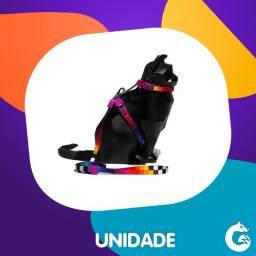 Peitoral com Guia para Gatos Prisma Zee Dog