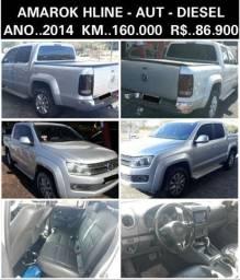 Amarok highline - 4x4 - aut - diesel