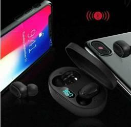 Fone Ouvido Digital True Esporte Bluetooth 5.0 E6s <br><br>