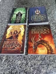 Livros - As Guerras e as Crônicas do mundo Emerso