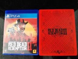 Game Red Dead Redemption 2 Edição Steelbook Ps4