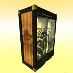 Cervejeiras / geladeira Gelopar GRBA-450PVA 445 litros porta de vidro