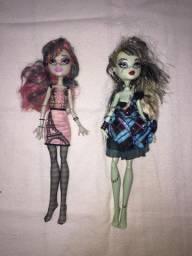 2 Bonecas Monster High Usadas Lindas