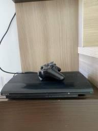 Título do anúncio: PS3 Super slim 10 jogos na memória
