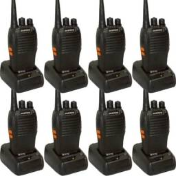 Título do anúncio: Kit 8 rádios comunicadores walkie-talkie baofeng ENTREGA GRATIS